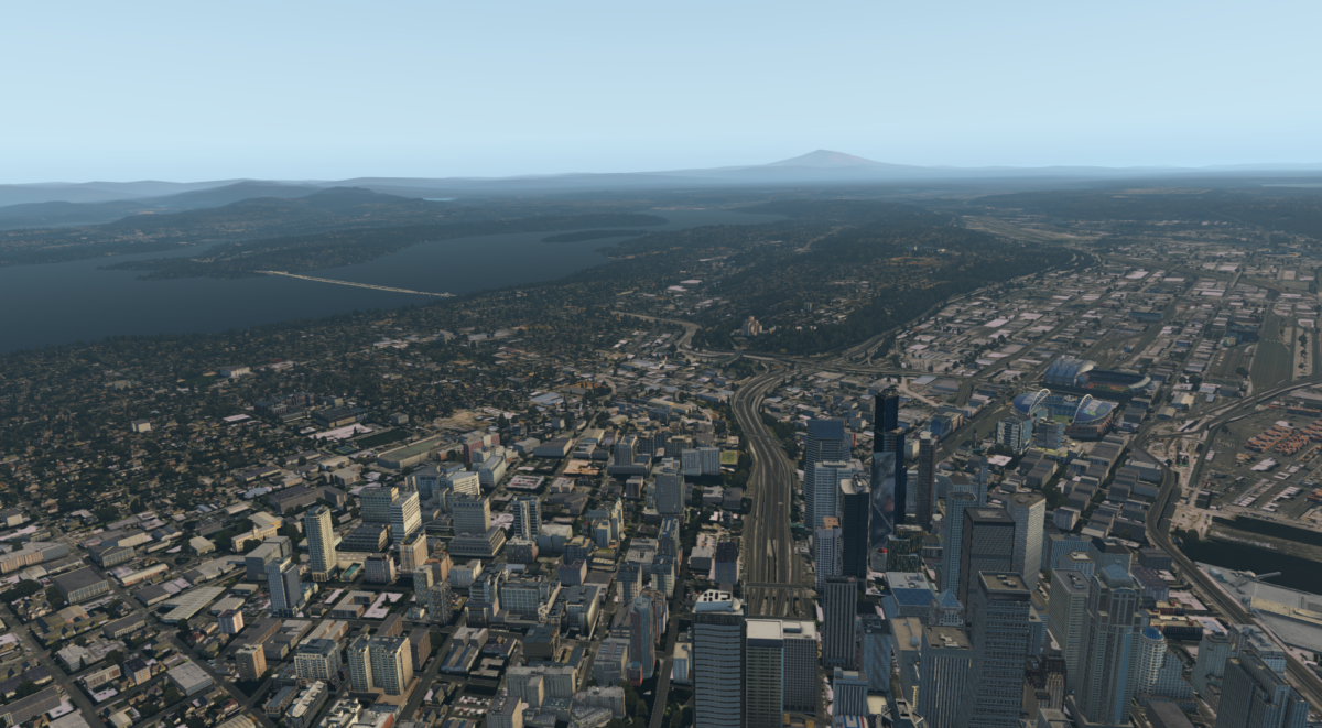 X-Plane: ORBX True Earth US Washington